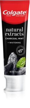 Colgate Natural Extract Charcoal + White dentífrico branqueador com carvão ativo