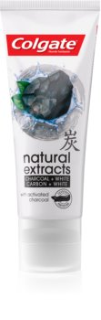 Colgate Natural Extract Charcoal + White Whitening Toothpaste with Activated Charcoal