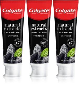 Colgate Natural Extracts Charcoal + White dentifricio sbiancante con carbone attivo