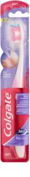 Colgate 360°  Pro Gum cepillo de dientes para encías sensibles suave