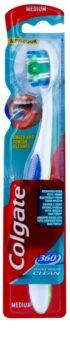 Colgate 360° Whole Mouth Clean spazzolino da denti medium