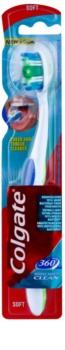 Colgate 360°  Whole Mouth Clean escova de dentes soft