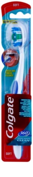 Colgate 360°  Whole Mouth Clean cepillo de dientes suave