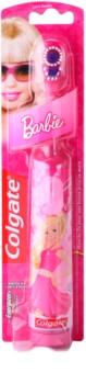 Colgate Kids Barbie bateriový dětský zubní kartáček extra soft
