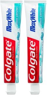 Colgate Max White White Crystals gelová bělicí pasta pro svěží dech