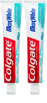 Colgate Max White White Crystals τζελ λευκαντική πάστα για φρέσκια αναπνοή