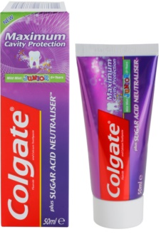 Colgate Maximum Cavity Protection Plus Sugar Acid Neutraliser pasta de dentes para crianças