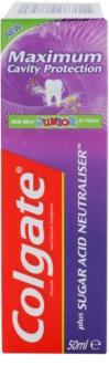 Colgate Maximum Cavity Protection Plus Sugar Acid Neutraliser dentifrice pour enfants