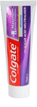 Colgate Maximum Cavity Protection Plus Sugar Acid Neutraliser wybielająca pasta do zębów