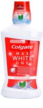 Colgate Max White One elixir bocal sem álcool