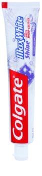Colgate Max White Shine Pasta de dinti pentru a intari smaltul dintilor. pentru un zambet radiant