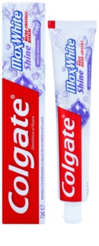 Colgate Max White Shine pasta para o fortalecimento do esmalte dos dentes para sorriso brilhante
