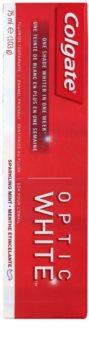 Colgate Optic White Zahnpasta mit bleichender Wirkung