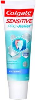 Colgate Sensitive Pro Relief + Whitening паста з відбілюючим ефектом для чутливих зубів