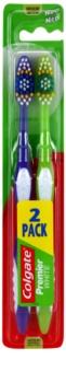 Colgate Premier White zubné kefky medium 2 ks