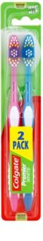 Colgate Premier White Medium Toothbrushes 2 pcs