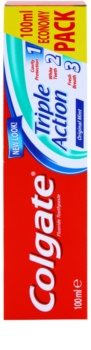 Colgate Triple Action dentifrice