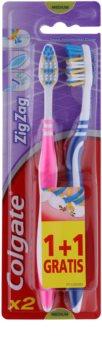 Colgate Zig Zag зубні щіточки medium 2 шт