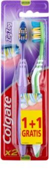 Colgate Zig Zag cepillo de dientes medio 2 uds