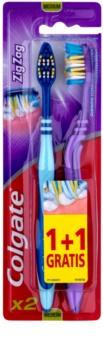 Colgate Zig Zag brosses à dents medium 2 pcs