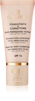 Collistar Total Perfection make-up a korektor SPF 15