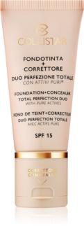 Collistar Total Perfection puder in korektor SPF 15
