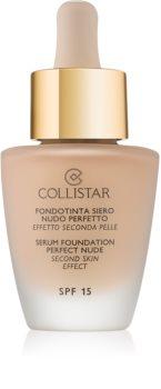 Collistar Foundation Perfect Nude освітлюючий тональний крем SPF 15