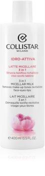 Collistar Idro-Attiva lait micellaire 3 en 1