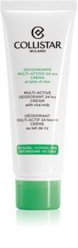 Collistar Special Perfect Body dezodorant w kremie do wszystkich rodzajów skóry
