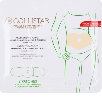 Collistar Special Perfect Body моделюючий пластир для живота та талії