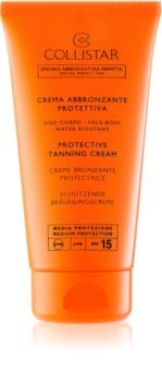 Collistar Sun Protection προστατευτική αντηλιακή κρέμα  SPF 15