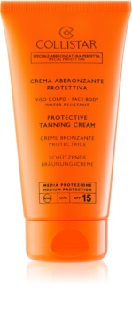 Collistar Sun Protection crème protectrice solaire SPF15