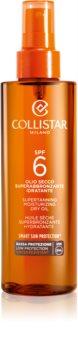 Collistar Sun Protection óleo seco solar SPF 6