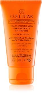 Collistar Sun Protection krema za sončenje proti staranju kože SPF 15