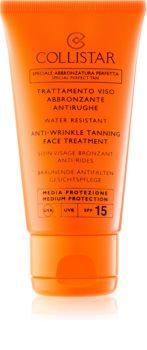 Collistar Sun Protection Sonnencreme gegen Hautalterung LSF 15
