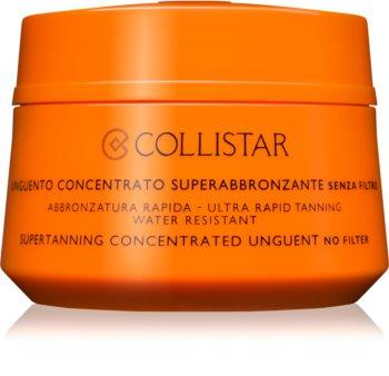 Collistar Sun No Protection koncentrovaná mast na opalování bez ochranného faktoru