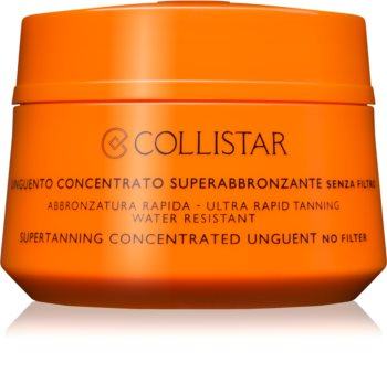 Collistar Sun No Protection концентрована мазь для засмаги без захисного фактору