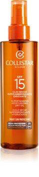 Collistar Sun Protection olio abbronzante SPF 15