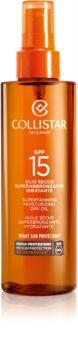 Collistar Sun Protection олійка для засмаги SPF15