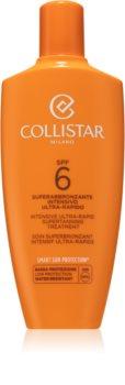 Collistar Sun Protection crema pentru bronzat SPF 6