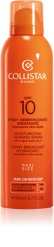 Collistar Sun Protection spray abbronzante SPF 10