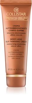 Collistar Tan Without Sunshine crème auto-bronzante corps et jambes