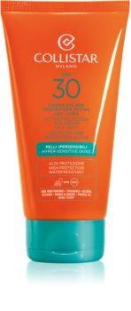 Collistar Sun Protection crema abbronzante waterproof SPF 30