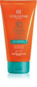 Collistar Sun Protection Waterproef Zonnebrandcrème SPF30
