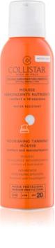 Collistar Sun Protection Bräunungsschaum für Gesicht & Körper SPF 20