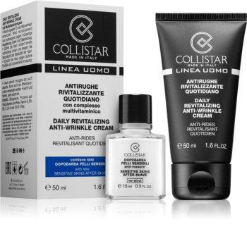 Collistar Man дневен ревитализиращ крем против бръчки