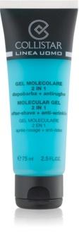 Collistar Man gel après-rasage + crème de jour hydratante effet anti-rides