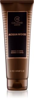 Collistar Acqua Wood gel za prhanje za moške