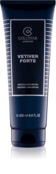 Collistar Vetiver Forte gel za prhanje za moške 250 ml