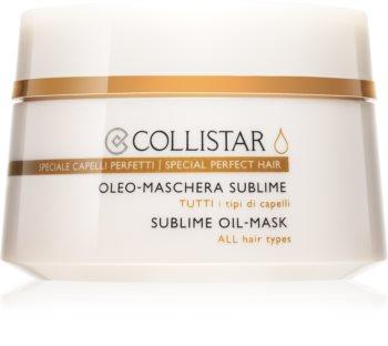 Collistar Special Perfect Hair olejová maska pro všechny typy vlasů